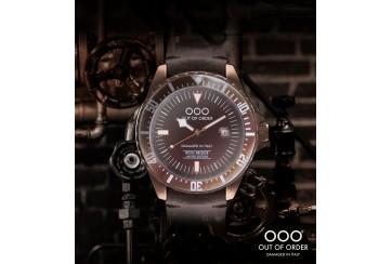 Chocolate Automatico by Iron Bridge Watches USA