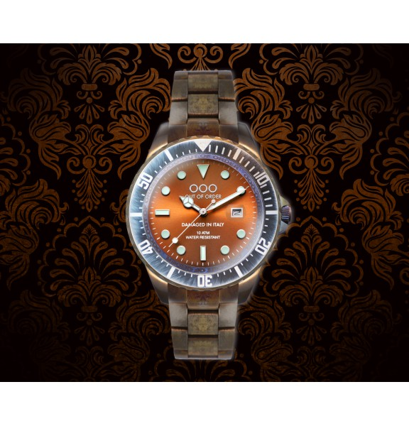 Casanova Rust| Stainless Steel Band