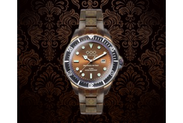 Casanova Sequoia Brown | Stainless Steel Band